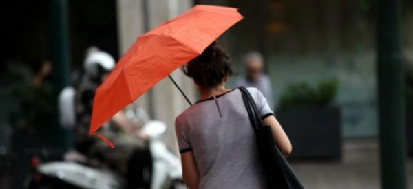 Χαλάει ο καιρός – Ισχυρές βροχές, χαλάζι και θυελλώδεις άνεμοι