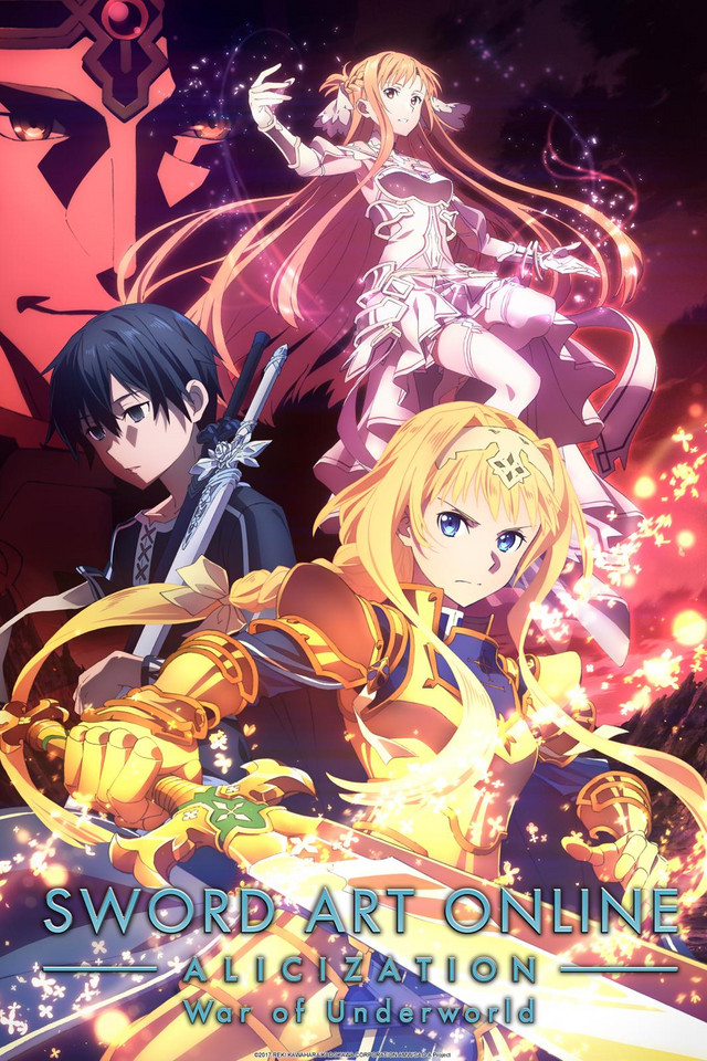 Póster deSword Art Online Alicization: War of Underworld