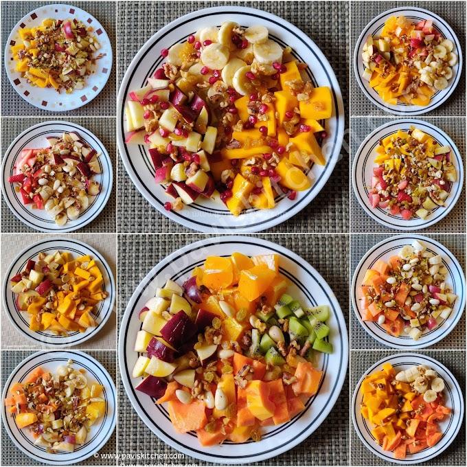 Fruit salad recipe   Indian fruit salad   how to make fruit salad Indian style