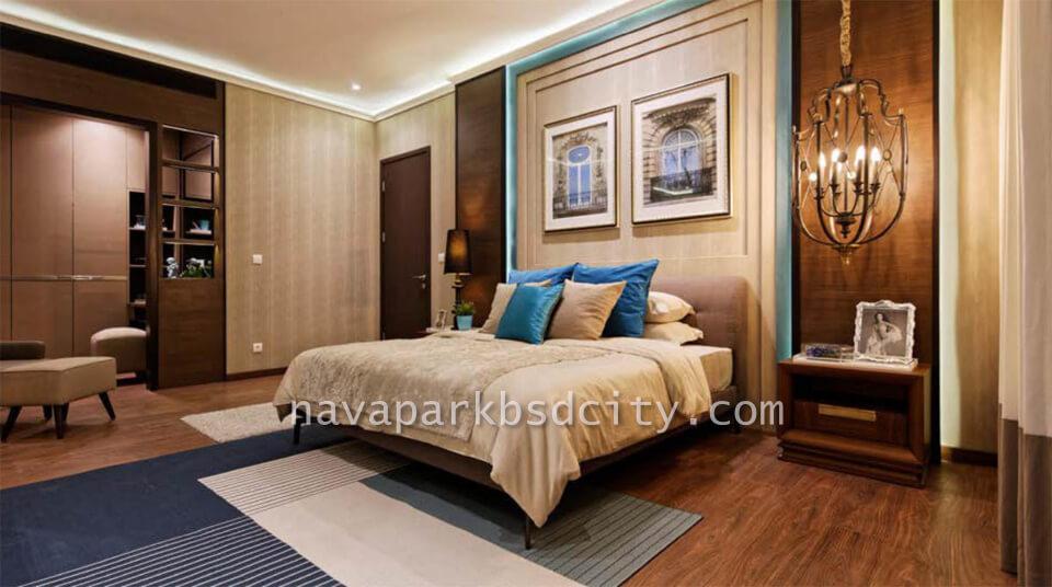 Contoh Interior Design MasterBed Tipe 12 Lakewood NavaPark