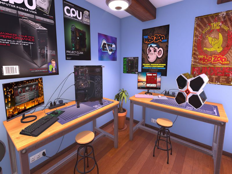 PC Building Simulator Highly Compressed Free Download