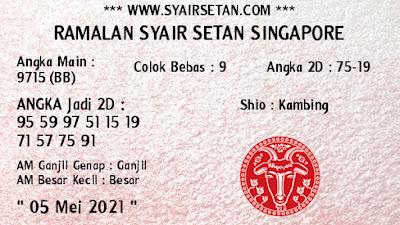 syair singapore rabu