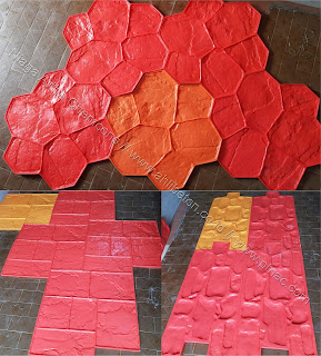 lantai beton cetak