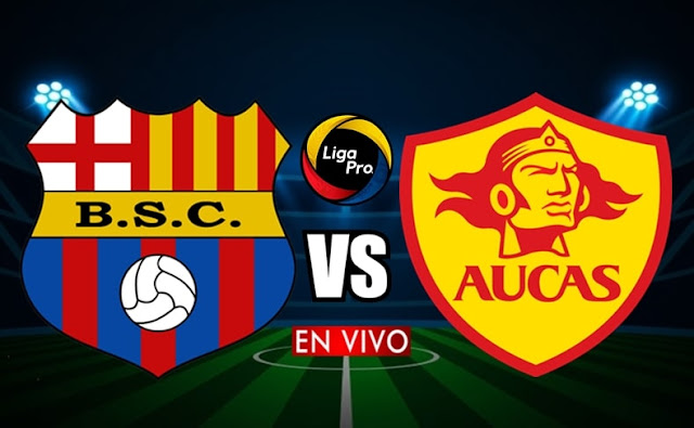 Barcelona se mide ante Aucas en vivo desde las 17h00 horario local, iniciando la fecha ocho del campeonato ecuatoriano, siendo transmitido por GolTV Ecuador a efectuarse en el estadio Monumental Isidro Romero. Con arbitraje principal de Alex Cajas.