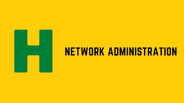 HackerRank Network Administration problem solution
