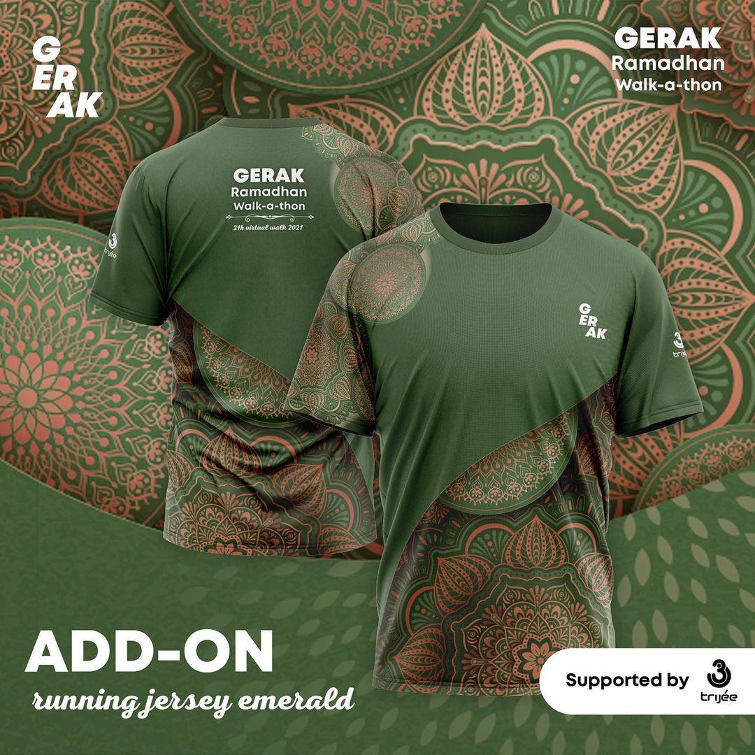 Short Jersey 👕 GERAK Ramadhan Walk-A-Thon • 2021