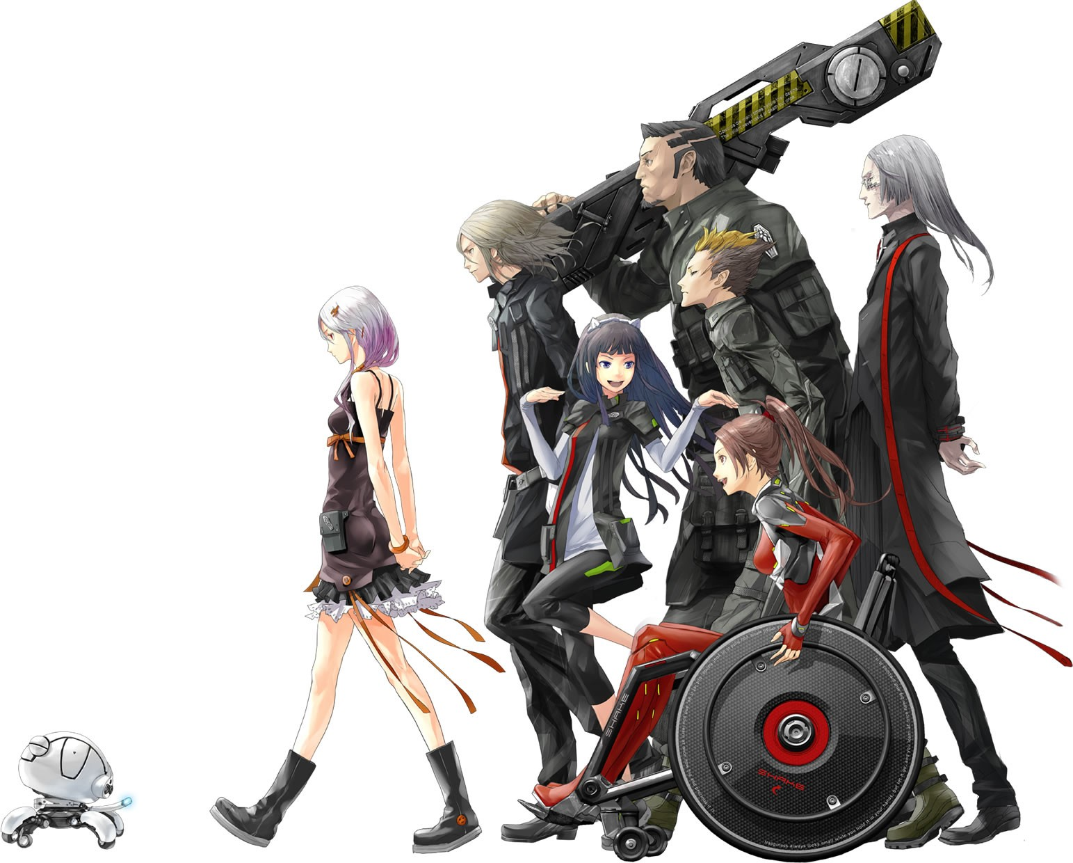 Download Wallpaper Pack Anime Guilty Crown