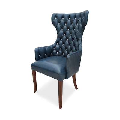 Cadeira capitonê de luxo