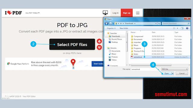 cara mengubah pdf ke jpg di laptop