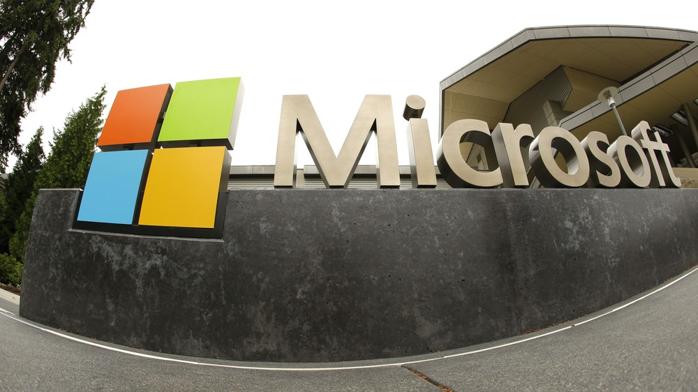 Sede da Microsoft em Redmond, Washington — Foto: Ted S. Warren/AP Photo/Arquivo