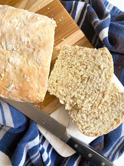 homemade oat seed bread #sweetsavoryeats