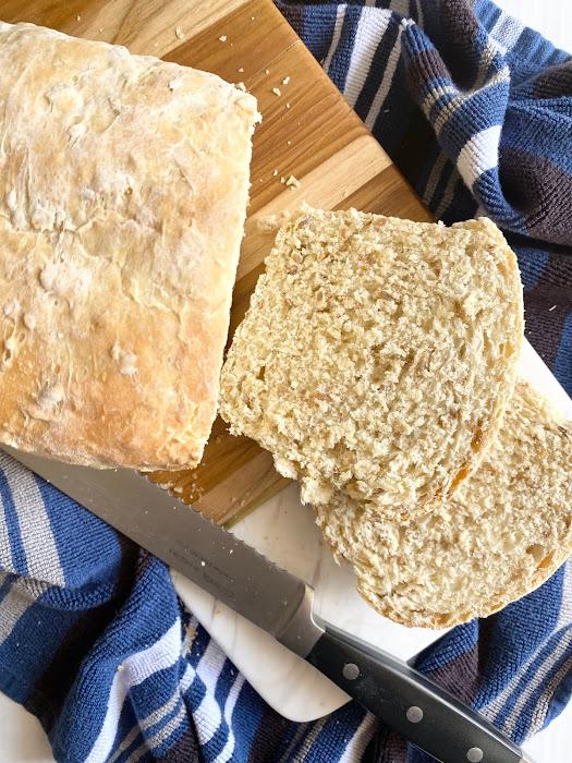 Homemade Oat Seed Bread