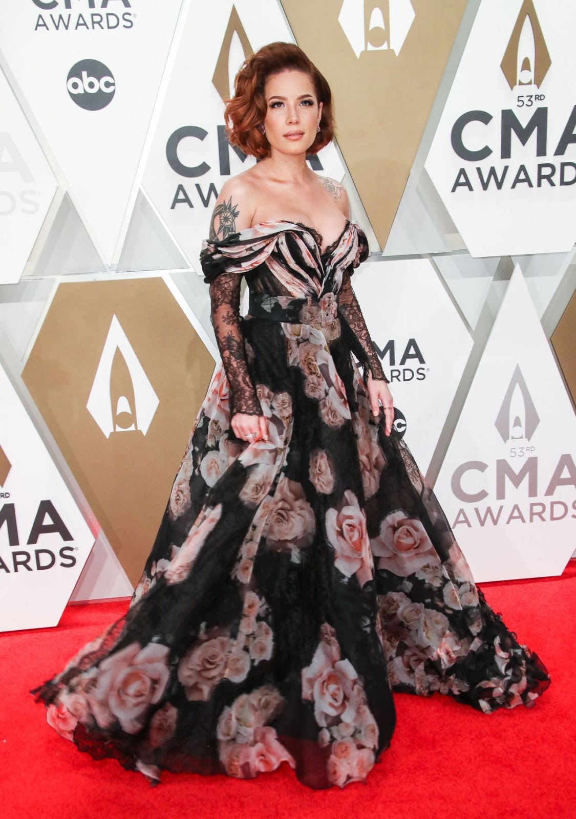 Halsey – 53rd Annual CMA Awards at Bridgestone Arena in Nashville