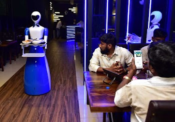 Robot themed restaurant opened in Coimbatore