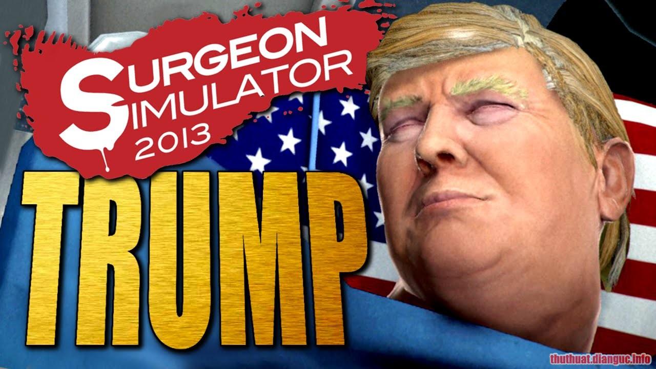 Download Game Surgeon Simulator – Anniversary Edition: Inside Donald Trump
