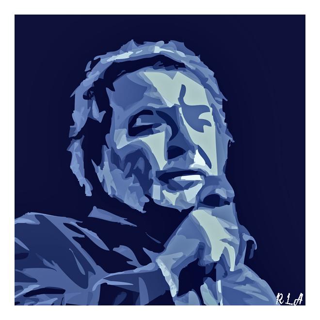 Pedro Ray-Blas. Ilustración de Rodrigo L. Alonso