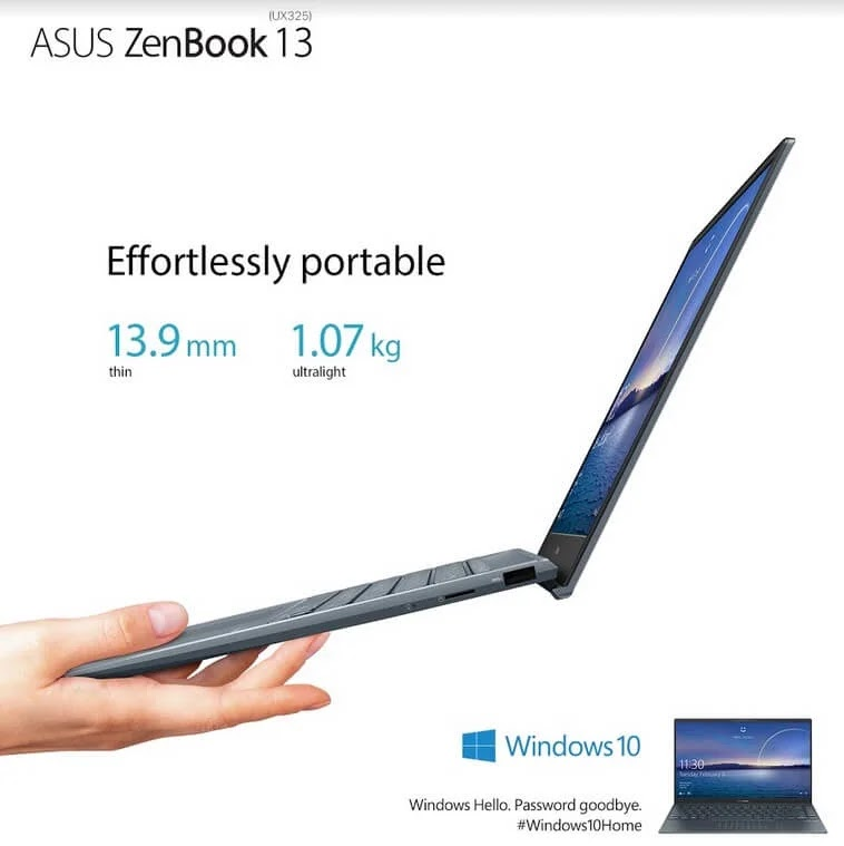 ASUS Zenbook 13 UX325 Launches in the Philippines for Only Php54,995