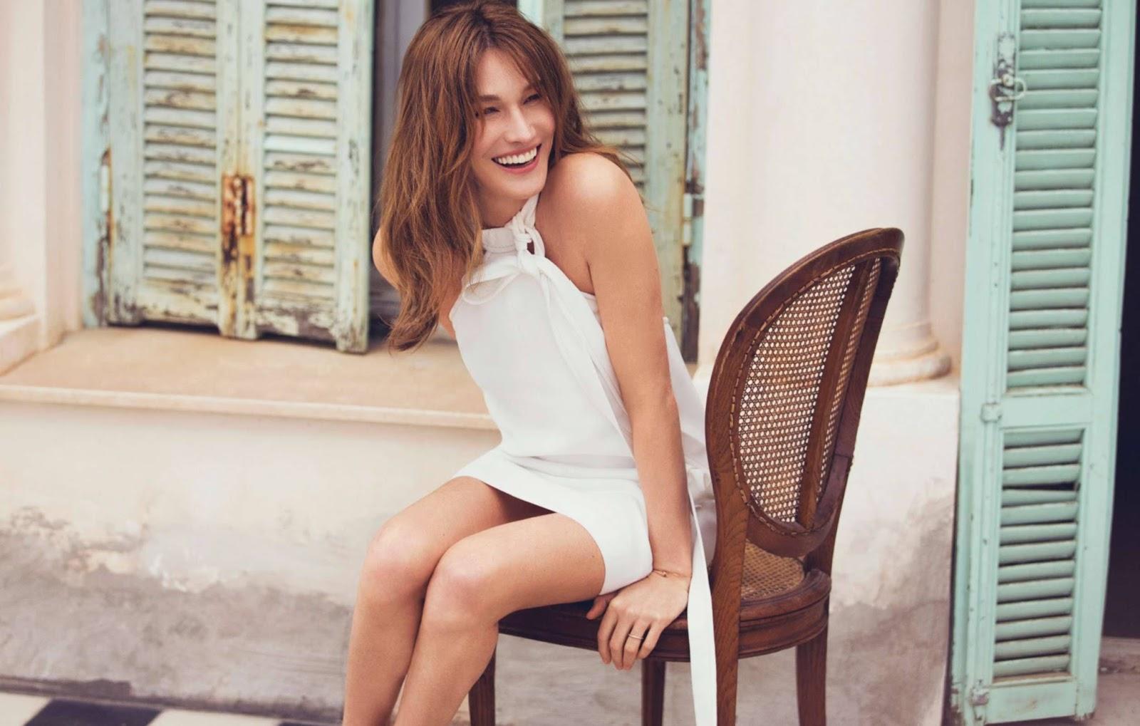 Les photos nues de Carla Bruni - Expresse - Excite France