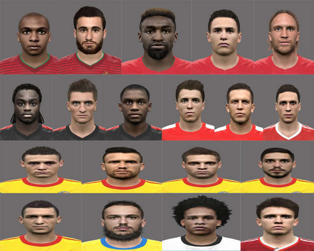 PES 2016 Euro 2016 Facepack Update