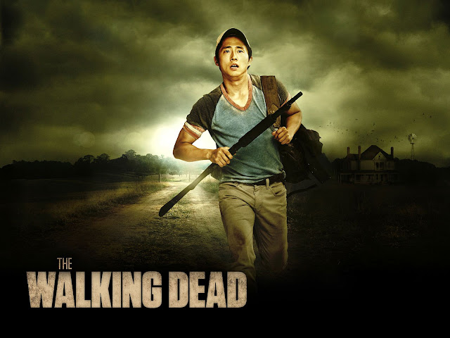 """The Walking Dead's"""" Steven Yeun Hints At Twins!"""
