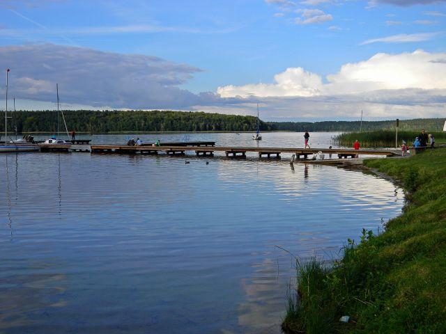 jezioro, Niesulice, Niesłysz, żagle, sporty wodne