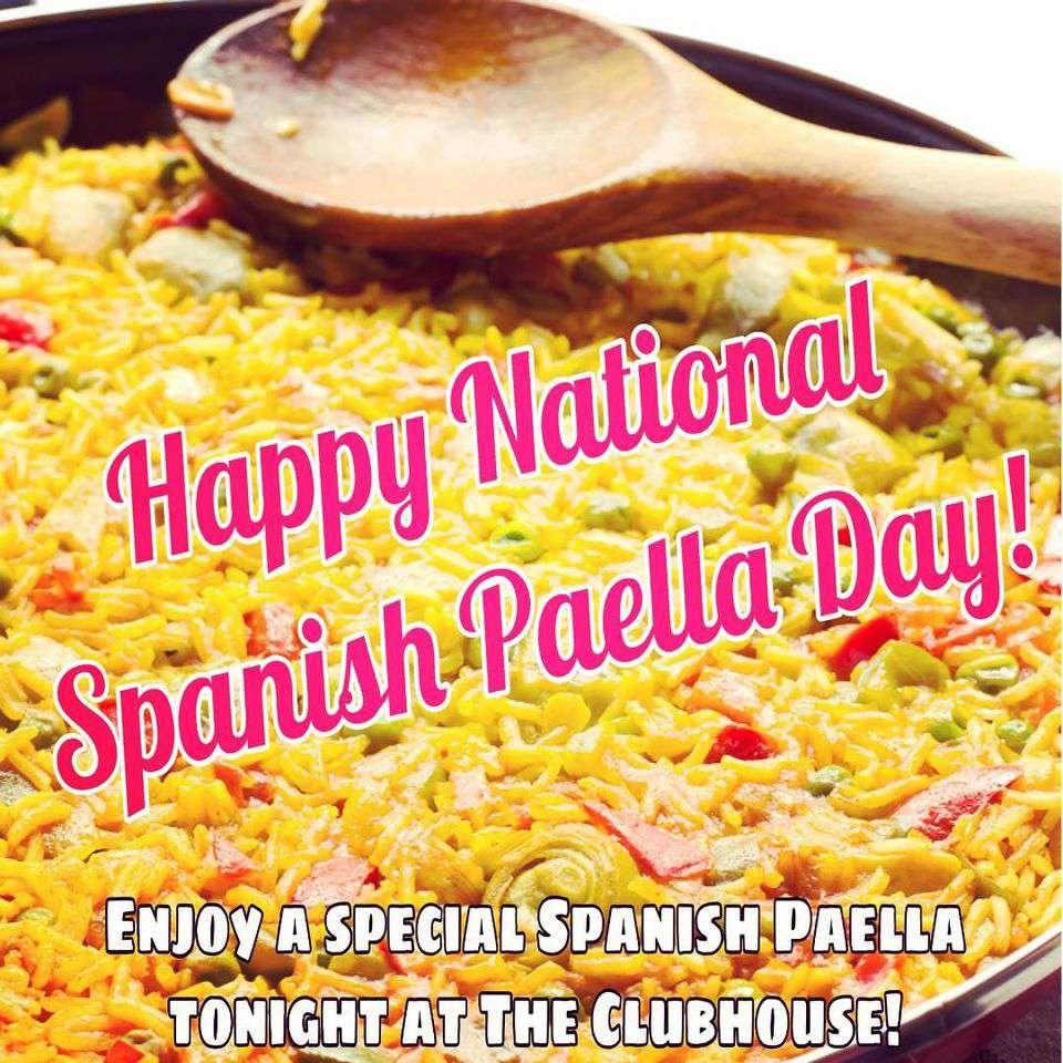 National Spanish Paella Day Wishes Beautiful Image