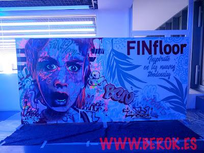 graffiti fluor con luz negra