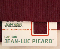 TNG season 2 admiral uniform - fabric