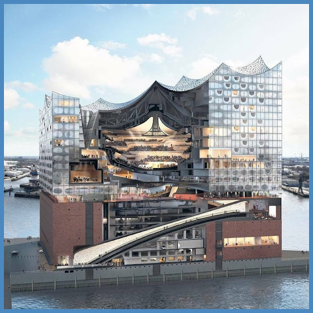 Eröffnung der Elbphilharmonie Nach dem Vorbild der Natur from Elbphilharmonie außen,