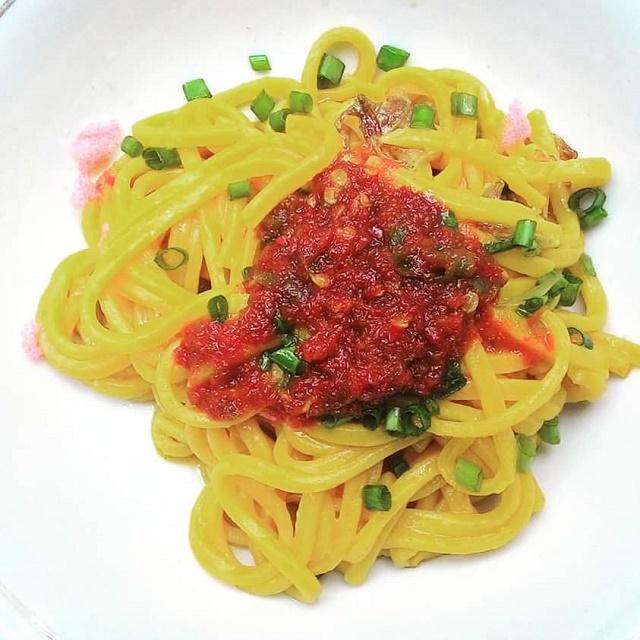 Spaghetti Tak Selezat Mie Caluek Pidie