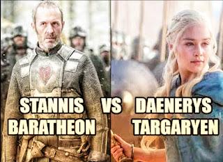 Danaerys Targaryen alike with Stannis Baratheon