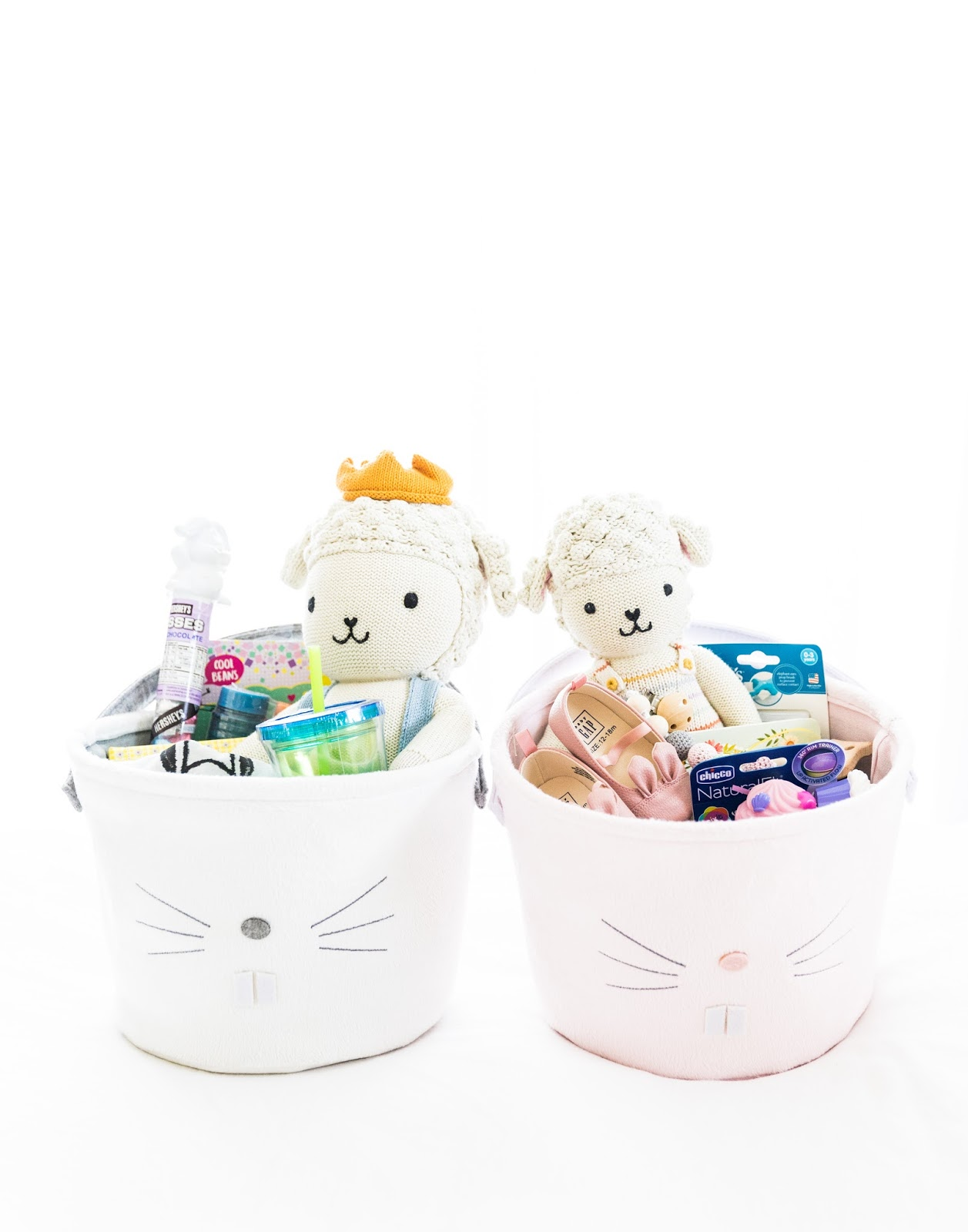 Easter baskets for baby and toddler sweet september easter baskets for baby and toddler this post contains affiliate links this means if you click andor make a purchase through these links negle Image collections
