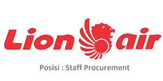 Lowongan Kerja Lion Air Posisi Staff Procurement