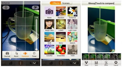 Screenshot App Camera460 Latest Version