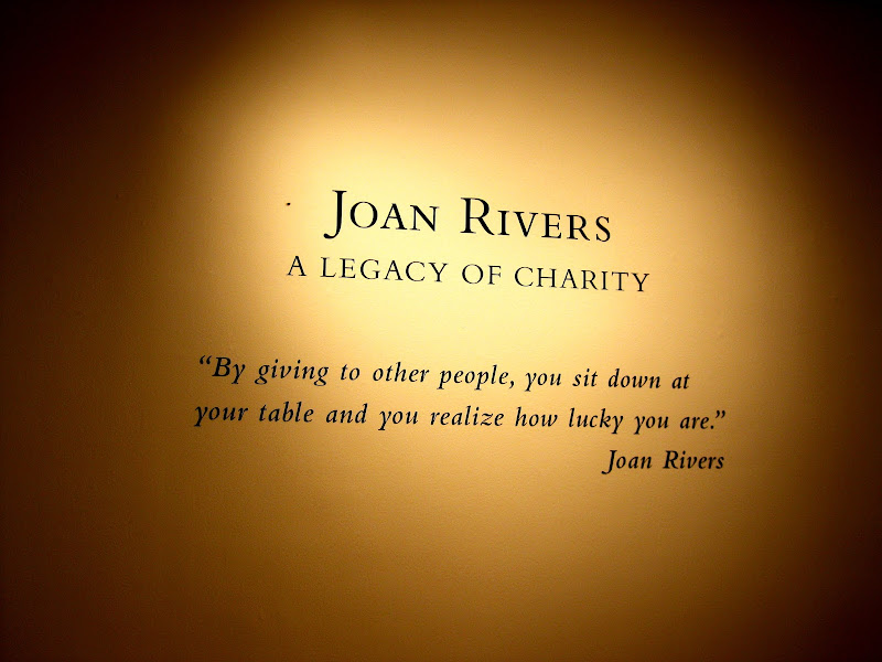 Joan Rivers' quote on charitable acts [photo/edit by sookietex]