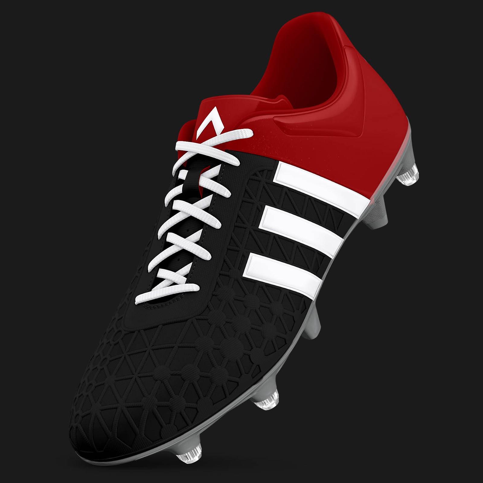 21ac0ee0aeab ... real custom adidas ace 15.3 soccer boots. e86d9 f41d8