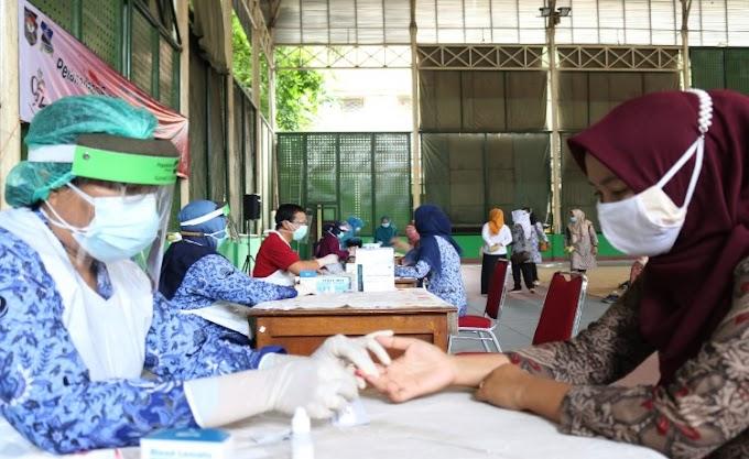 Peringati Hari Ibu ke-29, PPK Kabupaten Serang Gelar Rapid Tes, Ini Hasilnya