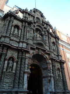 Iglesia de la Merced, em Lima