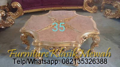 CLASSIC TABLE FRENCH JEPARA DESIGN-SELL CLASSIC FRENCH FURNITIRE FOR LIVING ROOM