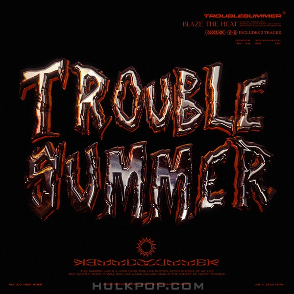 VMC – TROUBLE SUMMER – Single
