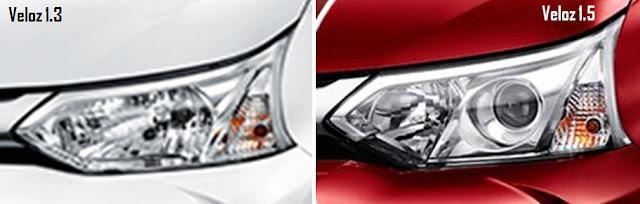 Velg Grand New Veloz 1.3 Harga Toyota Agya Trd-s Perbedaan Dan 1.5 - Eksterior ...
