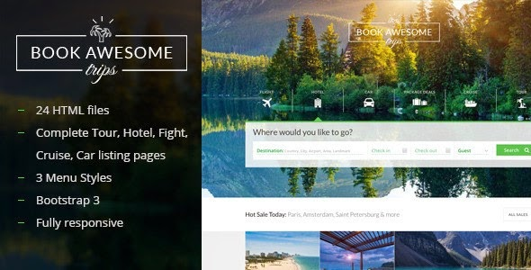 Book Awesome Trip HTML5 Template