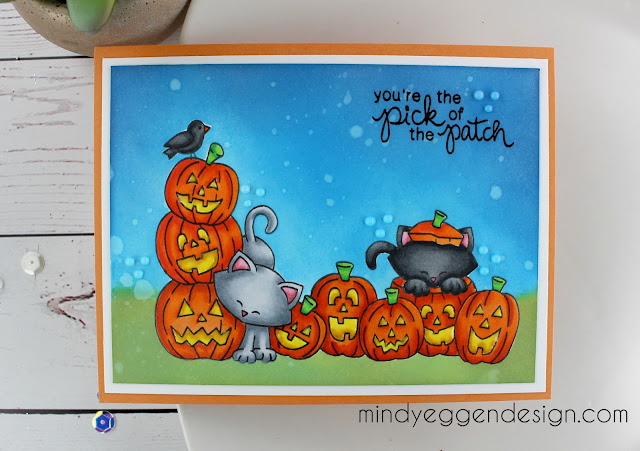 You're the pick of the pumpkin patch by Mindy features Newton's Boo-tiful Night by Newton's Nook Designs; #newtonsnook