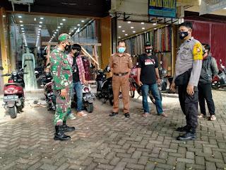 Pendisiplinan Protokol Kesehatan diwilayah Polres Pelabuhan Makassar, Tiga Pilar  Kompak Patroli