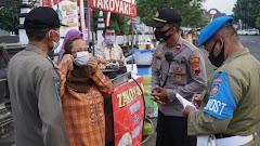 Tak Bosan, Satgas COVID di Batang Ingatkan Terus Warga Pentingnya Prokes