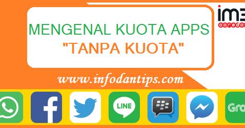 Mengenal Kuota Apps Tanpa Kuota Indosat Im3 Ooredoo