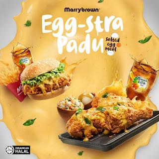 Egg-Stra Padu Salted Egg Meal Hidangan Terbaru Marrybrown ...