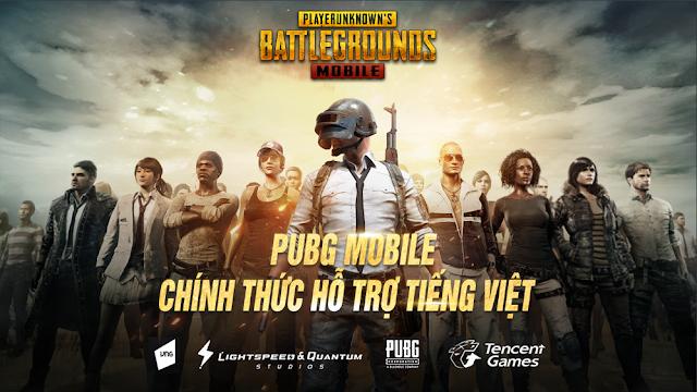 Download PUBG Mobile 1.0 Update Vietnam (VN) version
