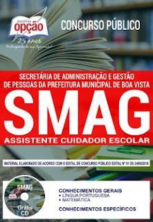 Apostila Concurso SMAG 2018 PDF - Cuidador Escolar