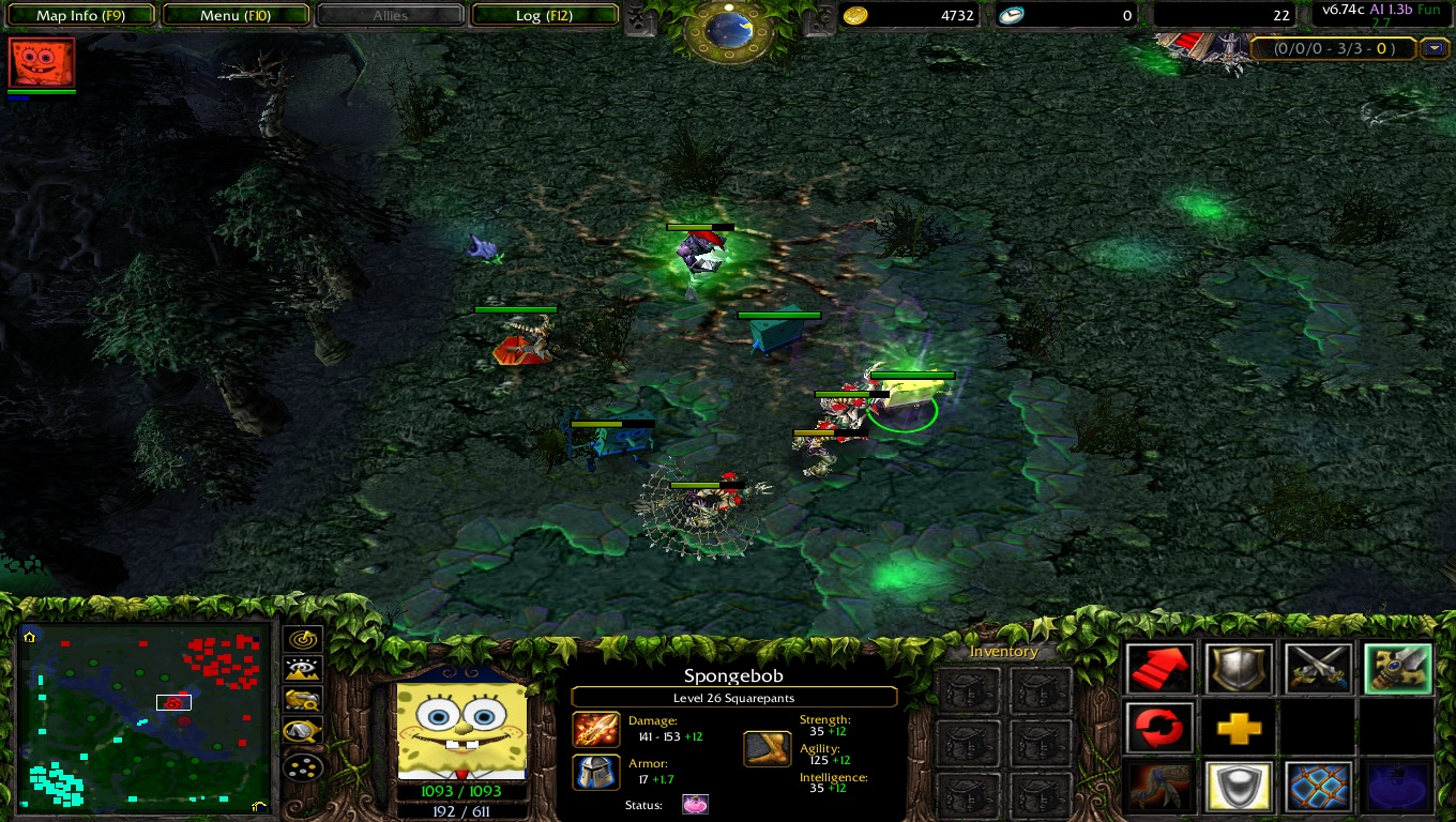 dota map 6.76 ai fun